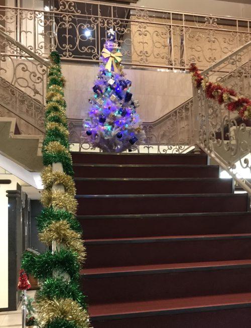 クリスマスツリー(和歌山市よりボディケア講座受講のブログ)