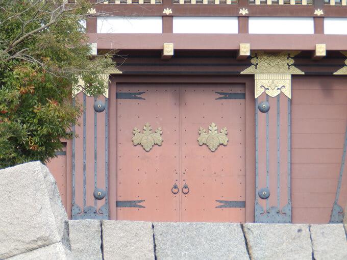 伏見城 ウォーキング