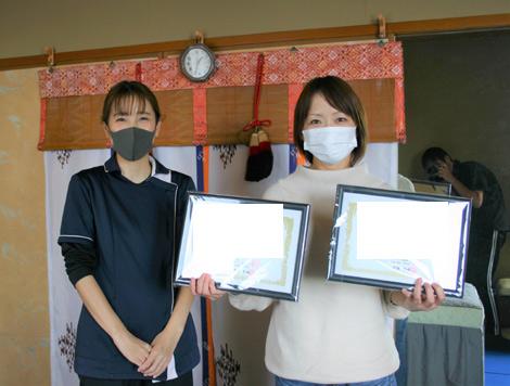 マッサージスクール奈良/奈良よりボディケア・リンパケア受講のスクール生さま卒業