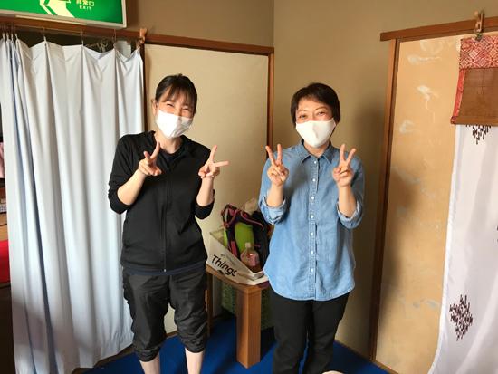 愛知県より足つぼ1日講座受講の生徒さん